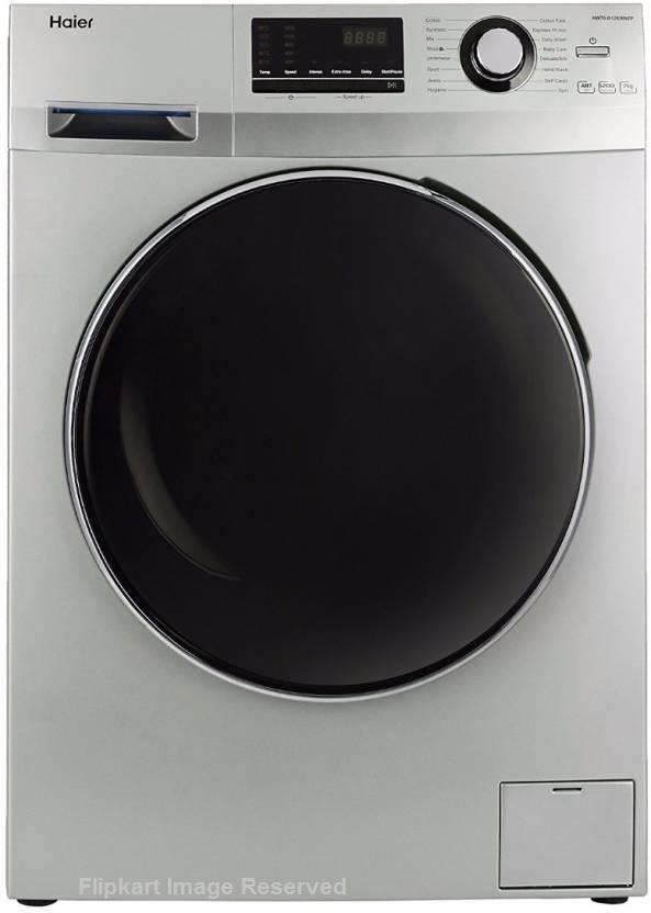Haier-7-kg-Fully-Automatic-Front-Loading-Washing-Machine-(HW70-B12636NZP-Titanium-Grey)