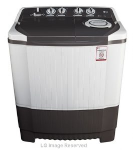LG-6.5 kg Semi-Automatic-Top-Loading-Washing-Machine-(P7550R3FA-Dark-Grey)