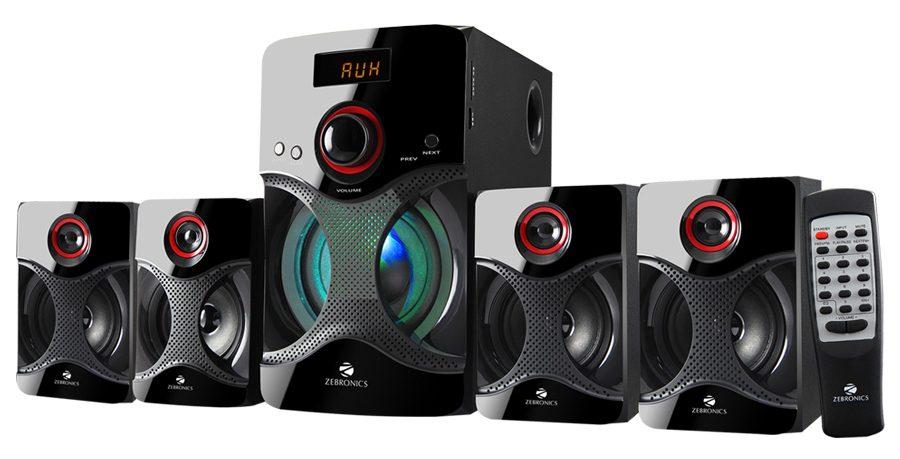 Zebronics BT4440RUCF 4.1 Channel Multimedia Speakers