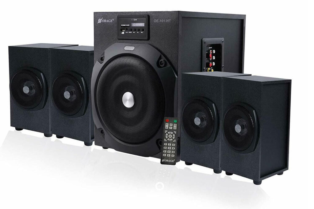 OBAGE Home Theaters 4.1 HT-101 Bluetooth Speakers
