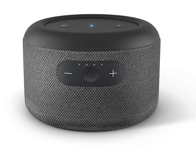 Echo Input Portable Smart Speaker