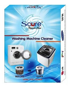 SCURE Best Descaler Washing Machine Tub Cleaning Powder