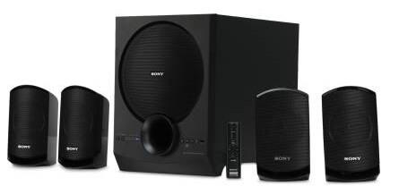 Sony SA-D40 4.1 Channel Multimedia Speaker System