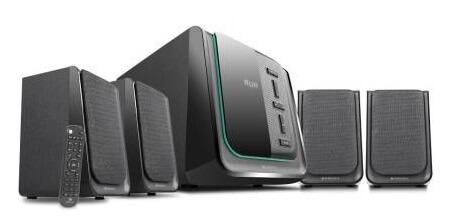 Zebronics Zeb-Pristine 4.1 Multimedia Speaker