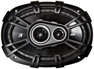 Kicker D-Series 43DSC69304 360 Watt 3-Way Car Audio Coaxial Speakers, 6x9-inches