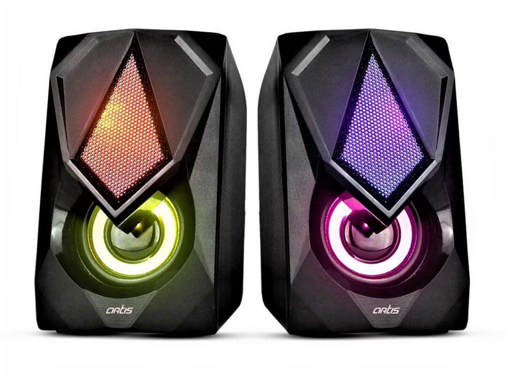 Artis S21 2.0 Channel Stereo USB Multimedia Speaker