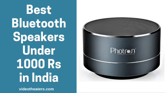 Best Bluetooth Speakers Under 1000 Rs in India