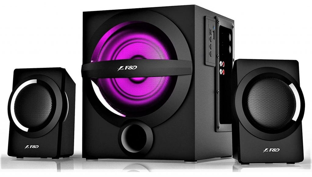 F&D A140X 37W 2.1 Bluetooth Multimedia Speaker with Multi-Color LED