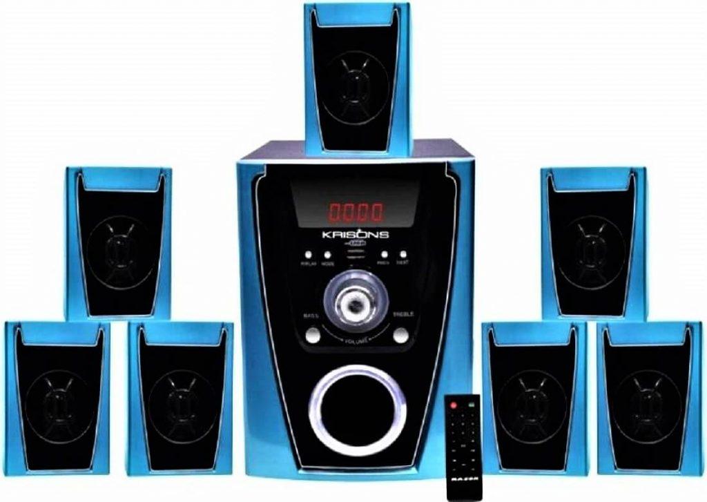 Krisons Polo 7.1 Home Cinema Speaker System Multimedia