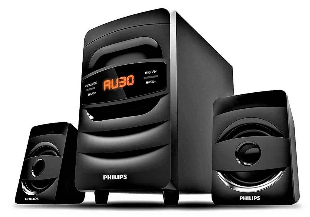 Philips Audio MMS2625B 2.1 CH Bluetooth Multimedia Speakers