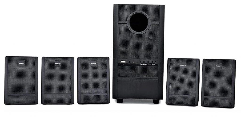 Philips Heartbeat SPA-3000U/94 5.1 Channel Multimedia Speaker System