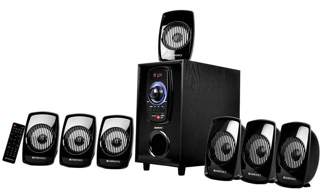 ZEBRONICS SPK-Zeb BT701RUCF Computer Multimedia 7.1 Speaker