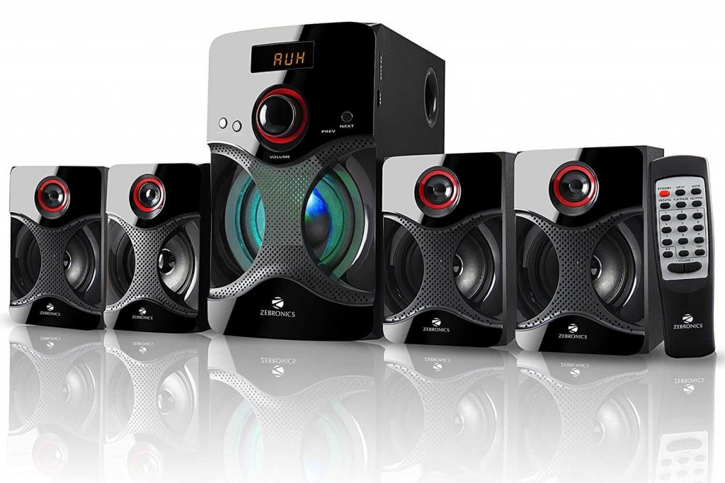 Zebronics BT4440RUCF 4.1 Channel Multimedia Speaker